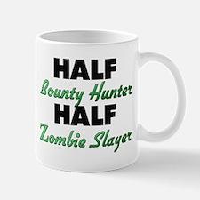 Half Bounty Hunter Half Zombie Slayer Mugs