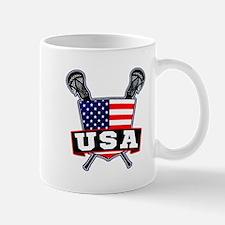 Team USA Lacrosse Logo Mugs