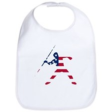 American Flag Javelin Throw Bib
