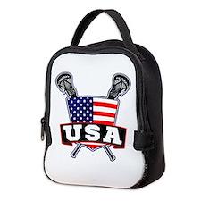 Team USA Lacrosse Logo Neoprene Lunch Bag