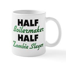 Half Boilermaker Half Zombie Slayer Mugs