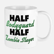 Half Bodyguard Half Zombie Slayer Mugs