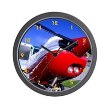 Cute Airplane Wall Clock
