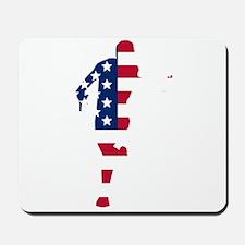 American Flag Runner Mousepad