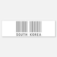 SOUTH KOREA Barcode Bumper Bumper Bumper Sticker
