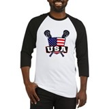 Usa lacrosse Long Sleeve T Shirts