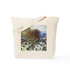 Monet - Boulevard of Capucines Tote Bag