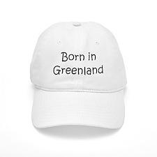 Born in Greenland Baseball Cap