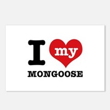 I love my MONGOOSE Postcards (Package of 8)
