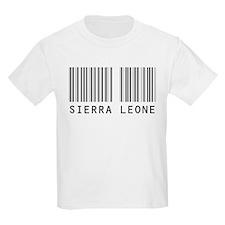 SIERRA LEONE Barcode Kids T-Shirt