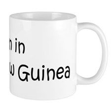 Born in Papua New Guinea Mug