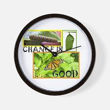 Change Is Good Wall Clock