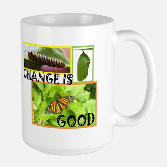 Change Is Good Mugs