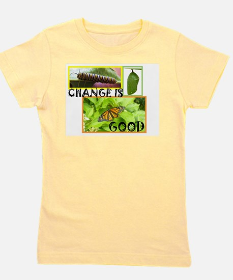Change Is Good Girl's Tee