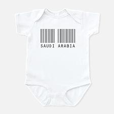 SAUDI ARABIA Barcode Infant Bodysuit