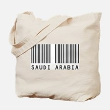 SAUDI ARABIA Barcode Tote Bag