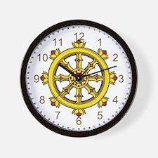 Dharmachakra Wheel Wall Clock