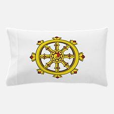 Dharmachakra Wheel Pillow Case