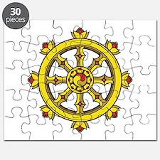 Dharmachakra Wheel Puzzle