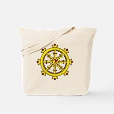 Dharmachakra Wheel Tote Bag