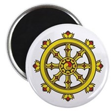 Dharmachakra Wheel Magnet