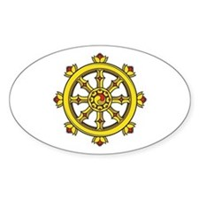 Dharmachakra Wheel Decal