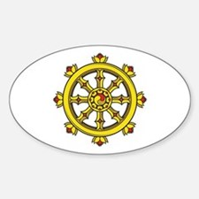 Dharmachakra Wheel Decal