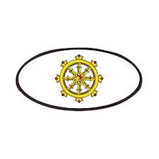 Dharmachakra Wheel Patches