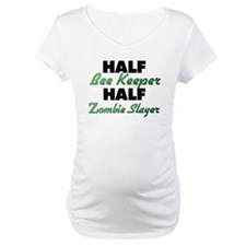Half Bee Keeper Half Zombie Slayer Shirt