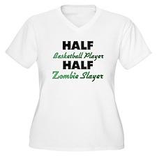 Half Basketball Player Half Zombie Slayer Plus Siz
