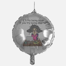 Intelligence Sarcasm Balloon