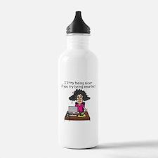 Intelligence Sarcasm Sports Water Bottle