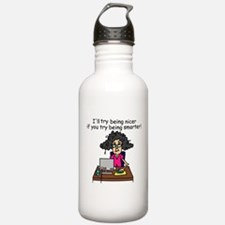 Intelligence Sarcasm Water Bottle