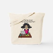 Intelligence Sarcasm Tote Bag