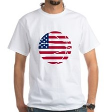 American Flag Basketball T-Shirt