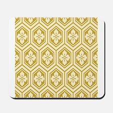 Honeycomb Flowers Mousepad