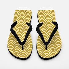 Oriental Design Flip Flops