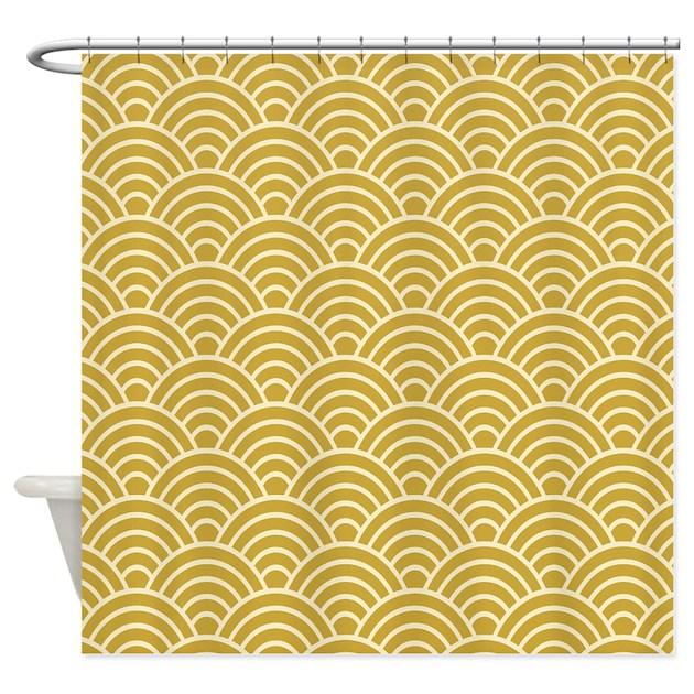 Oriental Design Shower Curtain By Admin CP65475253