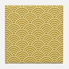 Oriental Design Tile Coaster