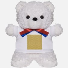 Oriental Design Teddy Bear
