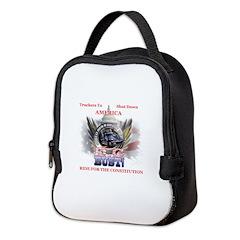 DC or Bust Neoprene Lunch Bag