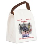 DC or Bust Canvas Lunch Bag