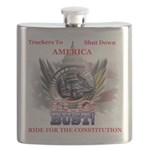 DC or Bust Flask