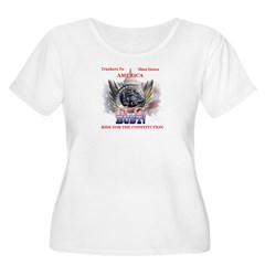 DC or Bust Plus Size T-Shirt