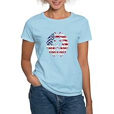 American Flag Lion T-Shirt