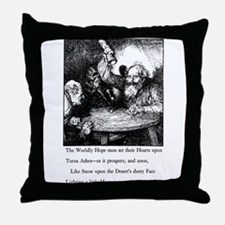 Cute Omar Throw Pillow