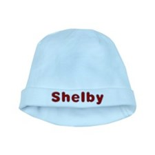 Shelby Santa Fur baby hat