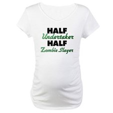 Half Undertaker Half Zombie Slayer Shirt