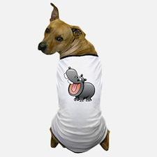Cartoon Hippopotamus Dog T-Shirt