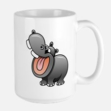 Cartoon Hippopotamus Mugs